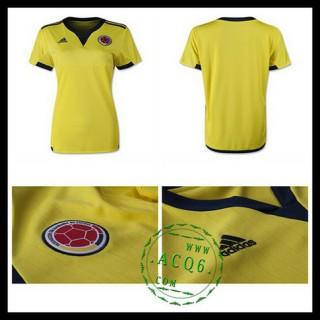 Camisas Futebol Colômbia 2015-2016 I Feminina