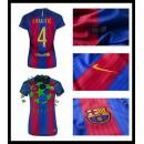 Tee Uniformes De Futebol I. Rakitic Barcelona Feminina 2016/2017 I Loja On-Line