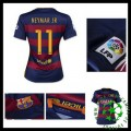 Camisas Futebol Barcelona (11 Neymar Jr) 2015 2016 I Feminina