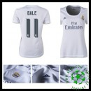 Camisetas Real Madrid (11 Bale) 2015/2016 I Feminina