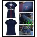 Camisa Paris Saint Germain 2016 2017 I Feminina