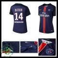 Camisas Du Futebol Paris Saint Germain Matuidi 2015-2016 I Feminina