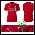 Camisa Du Futebol Liverpool 2015-2016 I Feminina