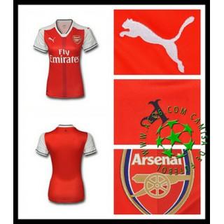 Camisas Futebol Arsenal 2016/2017 I Feminina