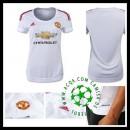 Camisas Futebol Manchester United 2015/2016 Ii Feminina