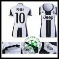 Jogo Camisas Du Futebol Pogba Juventus Feminina 2016-2017 I On-Line