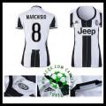 Comprou Uniformes Futebol Marchisio Juventus Feminina 2016/2017 I Loja On-Line
