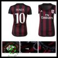 Camisetas Ac Milan (10 Honda) 2015-2016 I Feminina