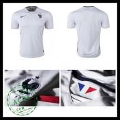 Camisas De Futebol França Autêntico Ii Euro 2016 Masculina