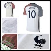 Camisas Futebol França Benzema Euro 2016/2017 Ii Masculina