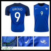 Camisas Futebol França Giroud Euro 2016/2017 I Masculina