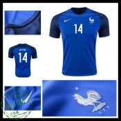 Camisas Futebol França Matuidi Euro 2016/2017 I Masculina