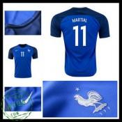 Camisas Futebol França Martial Euro 2016/2017 I Masculina