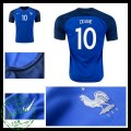 Camisa De Futebol França Zidane Euro 2016/2017 I Masculina
