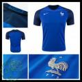 Camisetas França Euro 2016/2017 I Masculina