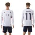 França Camisas Futebol Nasri Manga Longa 2015 2016 Ii Masculina