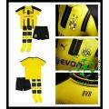 Uniforme De Futebol Borussia Dortmund 2016 2017 I Infantil
