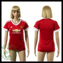 Manchester United Camisa Futebol 2015 2016 I Feminina