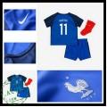 Camisas De Futebol França Martial Euro 2016/2017 I Infantil