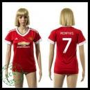 Manchester United Camisa Futebol Memphis 2015 2016 I Feminina