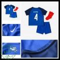 Camisa França Varane Euro 2016/2017 I Infantil
