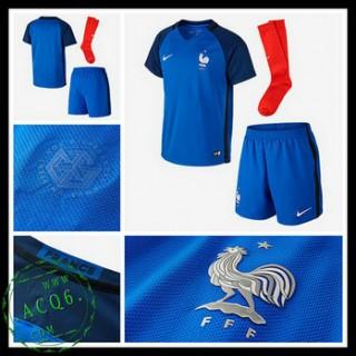 Camisa Futebol França Euro 2016/2017 I Infantil
