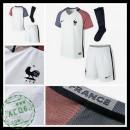 Camisetas França Euro 2016/2017 Ii Infantil