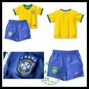 Uniforme De Futebol Brasil 2015-2016 I Infantil