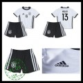 Camisa De Futebol (13 Muller) Alemanha Autêntico I Euro 2016 Infantil