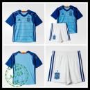 Camisas Futebol Espanha Autêntico I Goleiro Euro 2016 Infantil
