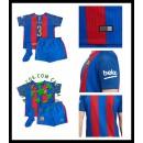 Para Quadro Uniforme De Futebol Pique Barcelona Infantil 2016/2017 I Loja On-Line