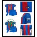 Um Rebanho Uniforme Futebol Messi Barcelona Infantil 2016/2017 I Loja On-Line