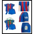 Compra Camisas Du Futebol Suarez Barcelona Infantil 2016/2017 I Loja On-Line