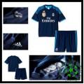 Camisas Du Futebol Real Madrid 2015 2016 Iii Infantil