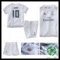 Camisa De Futebol Real Madrid (10 James) 2015-2016 I Infantil