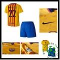 Camisas Futebol Barcelona (22 Dani Alves) 2015-2016 Ii Infantil