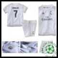 Camisetas Real Madrid (7 Ronaldo) 2015-2016 I Infantil
