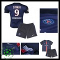 Uniforme De Futebol Paris Saint Germain Cavani 2015-2016 I Infantil