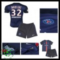 Camisas Futebol Paris Saint Germain David Luiz 2015-2016 I Infantil
