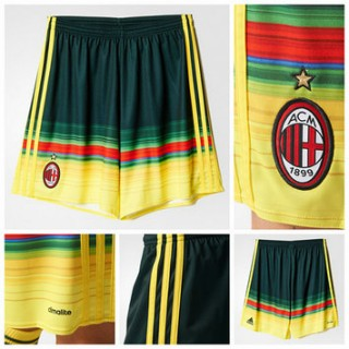 Ac Milan 2015 2016 Third Futebol Curtos