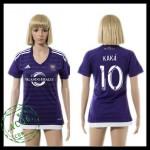 Orlando City Camisas De Futebol Kaka 2015/2016 I Feminina