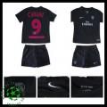Uniformes De Futebol Paris Saint Germain Cavani 2015/2016 Iii Infantil