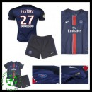Uniformes Futebol Paris Saint Germain Pastore 2015-2016 I Infantil