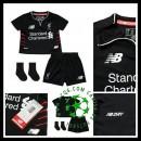 Para Quadro Uniforme Futebol Liverpool Infantil 2016 2017 Ii Loja On-Line