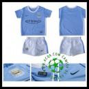 Camisas De Futebol Manchester City 2015-2016 I Infantil