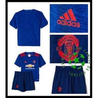 Uniformes Futebol Manchester United 2016/2017 Ii Infantil