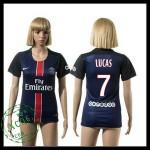 Psg Camisa Futebol Lucas 2015/2016 I Feminina