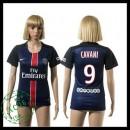 Psg Camisas Cavani 2015-2016 I Feminina