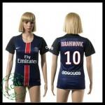 Psg Camisas De Futebol Ibrahimovic 2015 2016 I Feminina