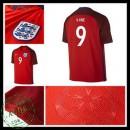 Uniforme De Futebol Inglaterra Kane Euro 2016/2017 Ii Masculina